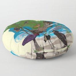 Some Birds Floor Pillow