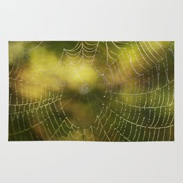 The Web we Weave Rug