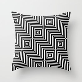 Op Art 6 Throw Pillow