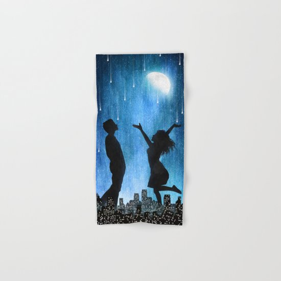 The night is ours Hand & Bath Towel