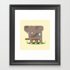 Fetch! Framed Art Print