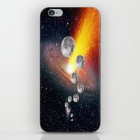 sci fi iPhone & iPod Skins featuring Sci-Fi Space Universe by  Agostino Lo Coco