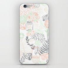Cucumber Peaches and Cream Mason Jar wedding iPhone & iPod Skin