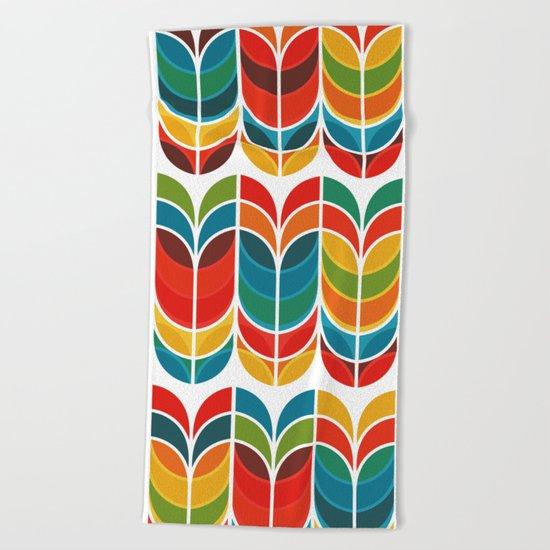 Tulip Beach Towel