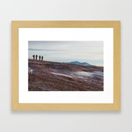 Mars Mission Framed Art Print