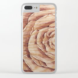 Botanical Bloom Clear iPhone Case