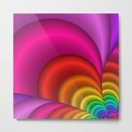 fractal and colorful -3- Metal Print