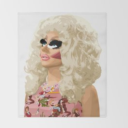 Trixie Mattel, RuPaul's Drag Race Queen Throw Blanket