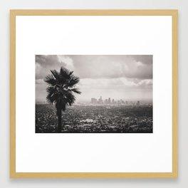 DOWNTOWN LA Framed Art Print