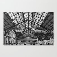 liverpool Canvas Prints featuring Liverpool Station by West of East