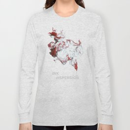 Ink dispersion Long Sleeve T-shirt