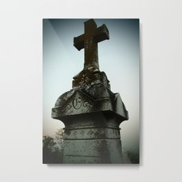 Ancient Cross Metal Print