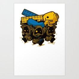 bustedtees Art Print