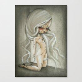 "OHMYDOLLS!Art ""CREPACUORE"" Canvas Print"