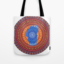 Lake Tahoe Mandala - OG Colors Tote Bag