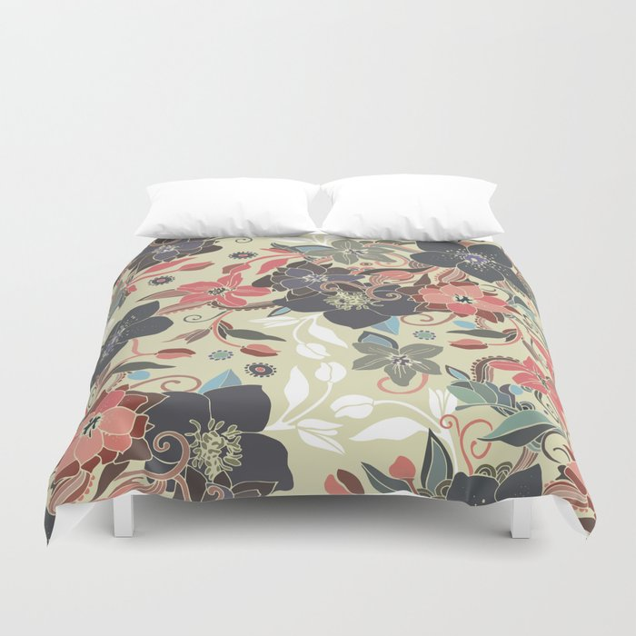 Hellaborus Duvet Cover