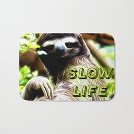 Slow Life Bath Mat