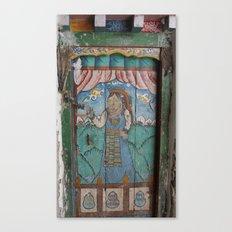 Lo Manthang Door - 2 of 2 Canvas Print