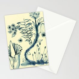 Flowers 4 Stationery Cards