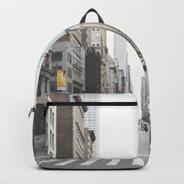 USA Photography - Street In New York City Backpack