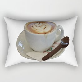 Americano Coffee Vector Rectangular Pillow