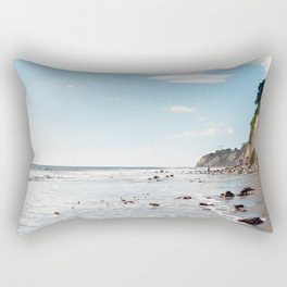 1000 Steps Beach Rectangular Pillow