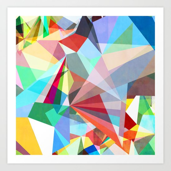 Colorflash 5 Art Print