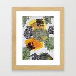 Carbonation Collection: spring Framed Art Print