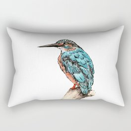 The Kingfisher Rectangular Pillow