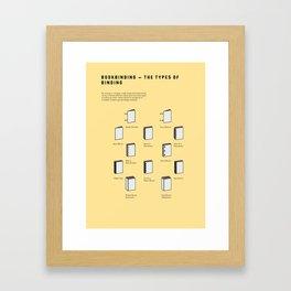 Bookbinding – The Types of Binding Framed Art Print