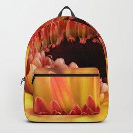 Yellow Gerber Daisy Backpack