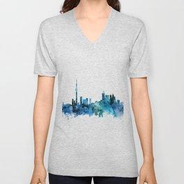 Toronto Canada Skyline Unisex V-Neck