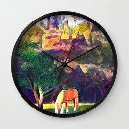 Mimosa Bellas Wall Clock