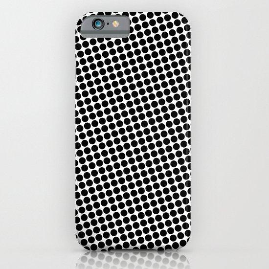 BLACK DOT iPhone & iPod Case