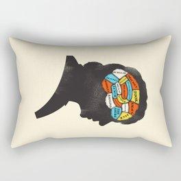 Bilbo Phrenology Rectangular Pillow