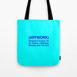 (ARTWORK) Red Tote Bag