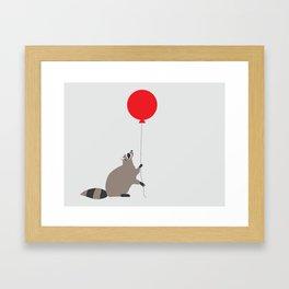 Darn Raccoons. Framed Art Print
