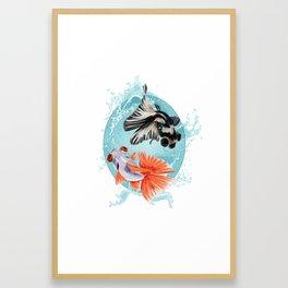 Goldfish Bowl (3 of 3) Framed Art Print