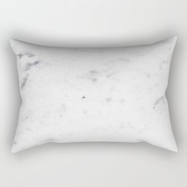 White Marble #1 #texture #marble #decor #art #society6 Rectangular Pillow