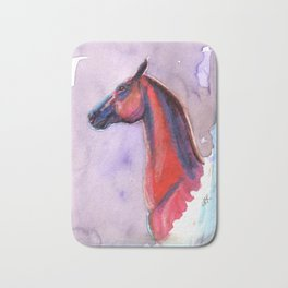 The Red Horse Bath Mat