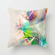 Graphic 5 Throw Pillow