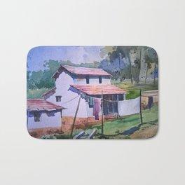 Village life Bath Mat