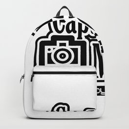 Capture the moment Backpack