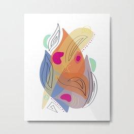 Modern minimal forms 21 Metal Print