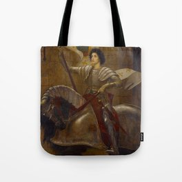 "Sir William Blake Richmond ""Joan of Arc"" Tote Bag"