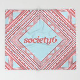 Society6 Throw Blanket