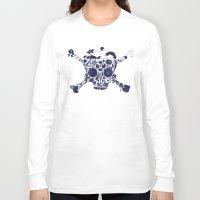 pirates Long Sleeve T-shirts featuring Pirates Stuff by Oleg Milshtein