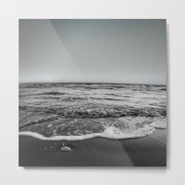 BEACH DAYS XXIII BW Metal Print