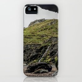 Merlins cove tintagel iPhone Case