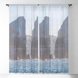Kamchatka, Three brothers Sheer Curtain